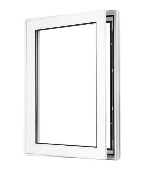 Beveled Casement open A 1020X1200