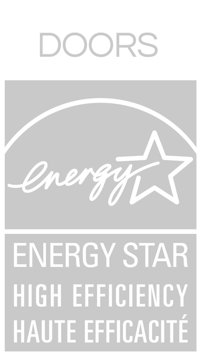 Energy Star high effeciency doors