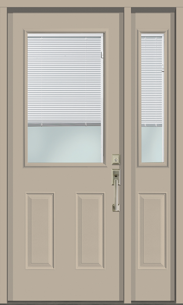 Internal Mini Blinds Entrance Doors Kv Custom Windows